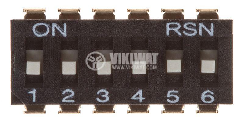 Микропревключвател DIP плъзгач - 3