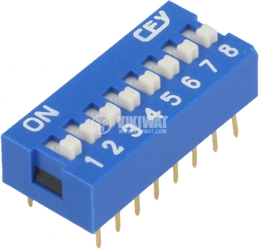Microswitch DIP slider 0.05A/12VDC ON-OFF THT - 1