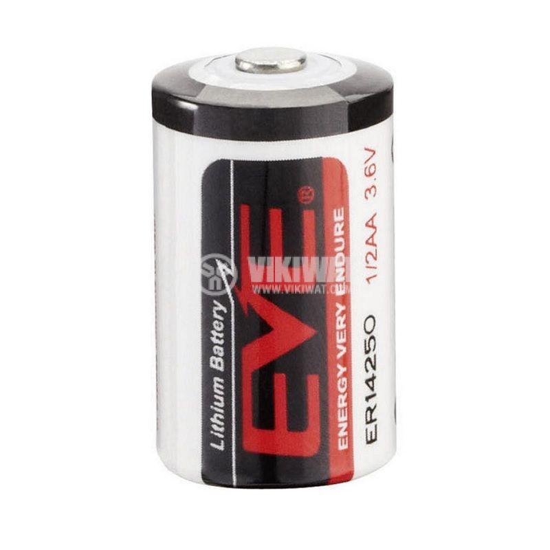 Батерия, литиева, EVE-ER26500/S, ф26x50mm, C, 3.6VDC, 8500mAh