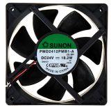 Fan 24VDC, 120x120x38mm, with a ball bearing, 322.8m³/h, PMD2412PMB1-A(2).GN, brushless