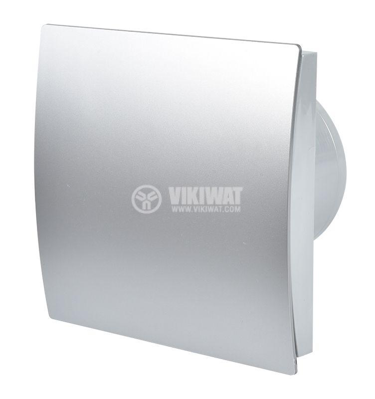 Вентилатор за баня MMP 01, Ф100mm с клапа - 1
