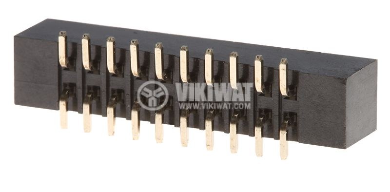 Конектор IDC, 20 контакта, SMT, DS1014-20MF1B - 2