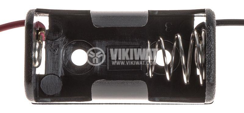 Държач за батерия BH-1/2AA-2A - 2