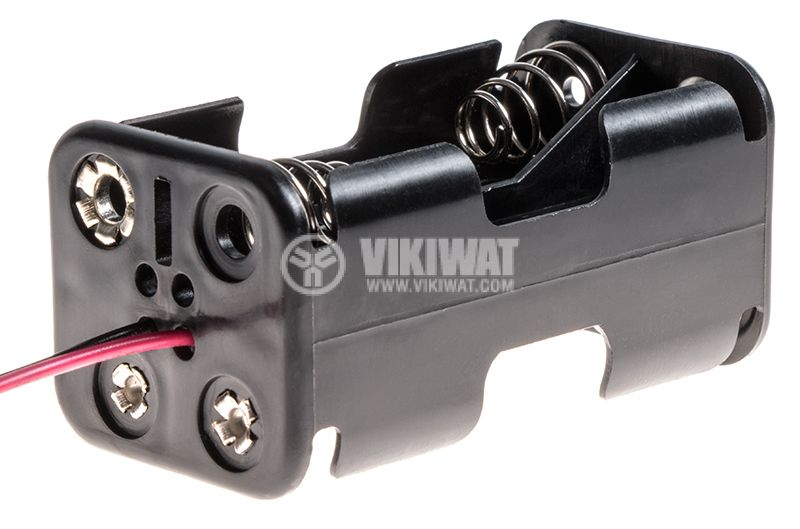 Battery holder 4xAA with wires - 1