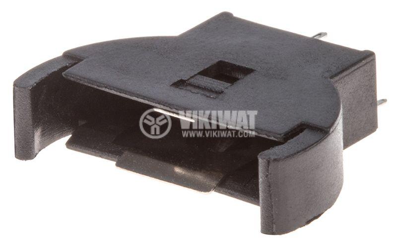Държач за батерия 2032(BR2032, CR2032) за печатен монтаж - 1