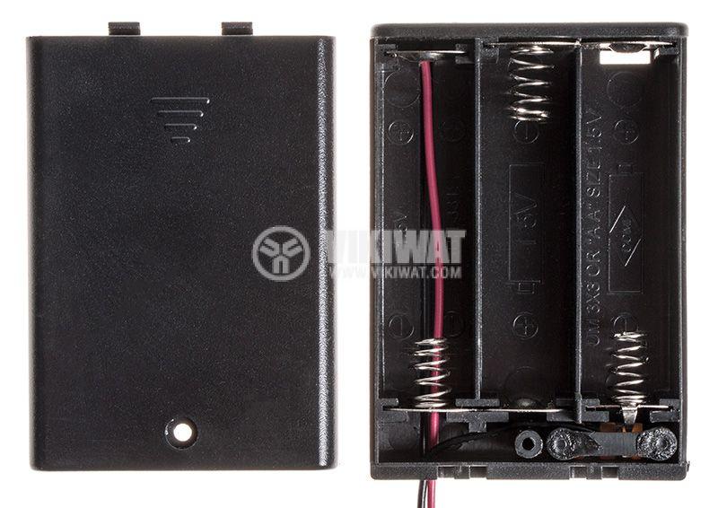 Кутия за батерии 3xAA - 4