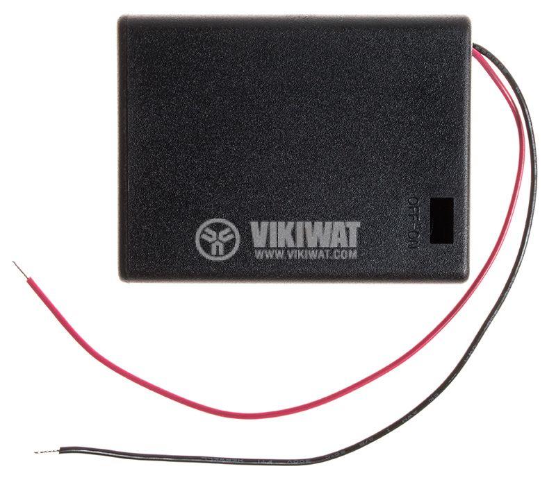 Държач за батерии 4xAAA - 2