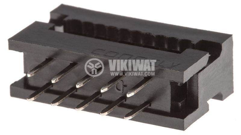 Съединител IDC преходник 10 пина растер 2.54mm - 1