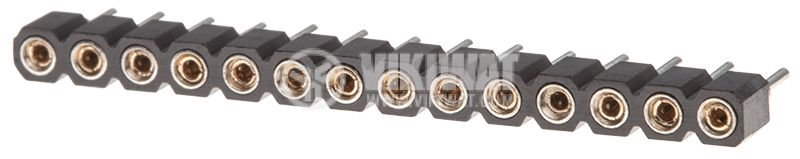 Connector pin header type 14 pin THT 2.54mm - 1