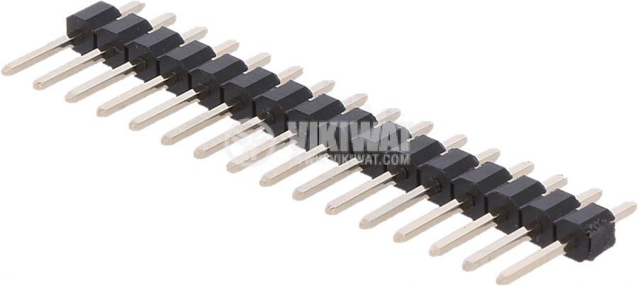 Съединителна рейка 16 пина растер 2.54 mm права - 1