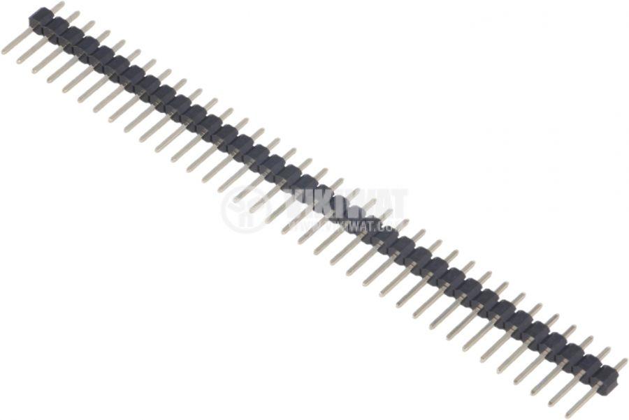 Съединителна рейка 36 пина растер 2.54 mm права