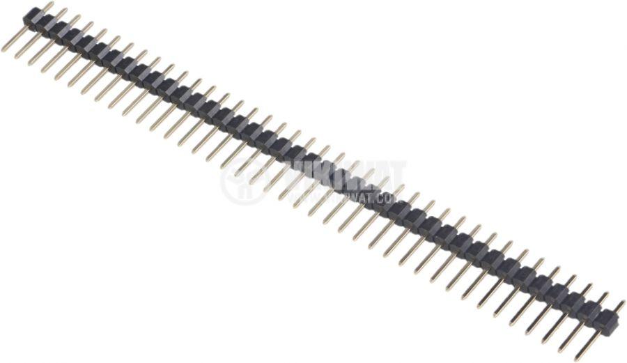 Съединителна рейка 40 пина растер 2.54 mm права