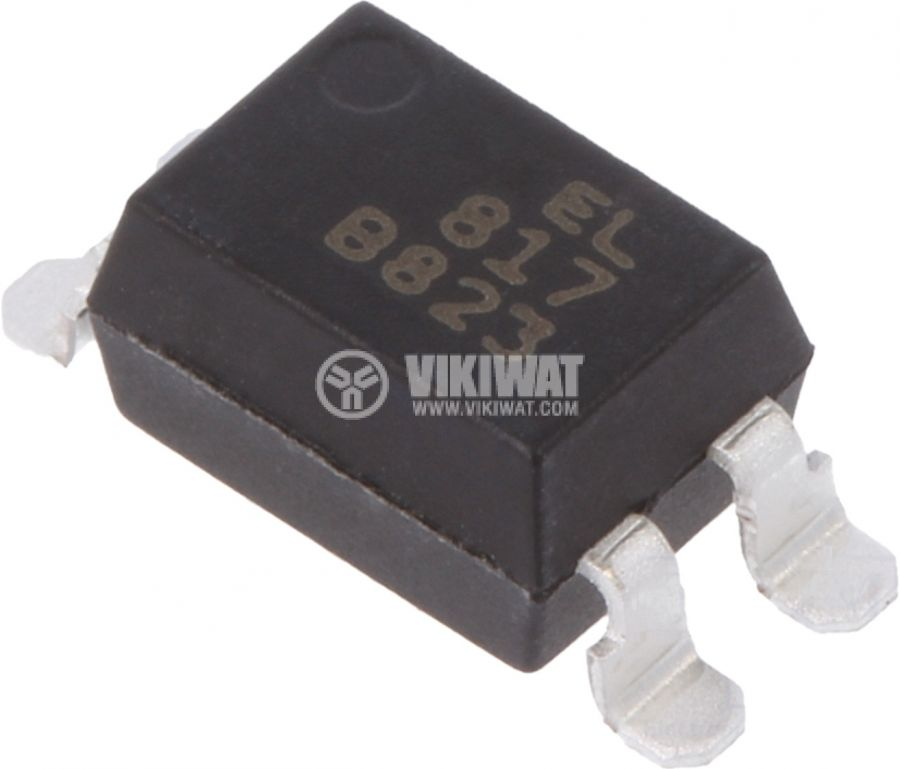 Оптрон EL817S1(TU) транзисторен 1 канал 5kV 35V