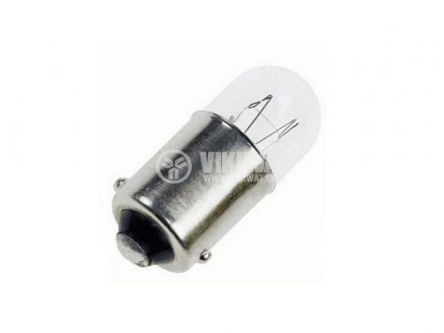 Байонетна лампа 12VDC 100mA BA9S T3 1/4