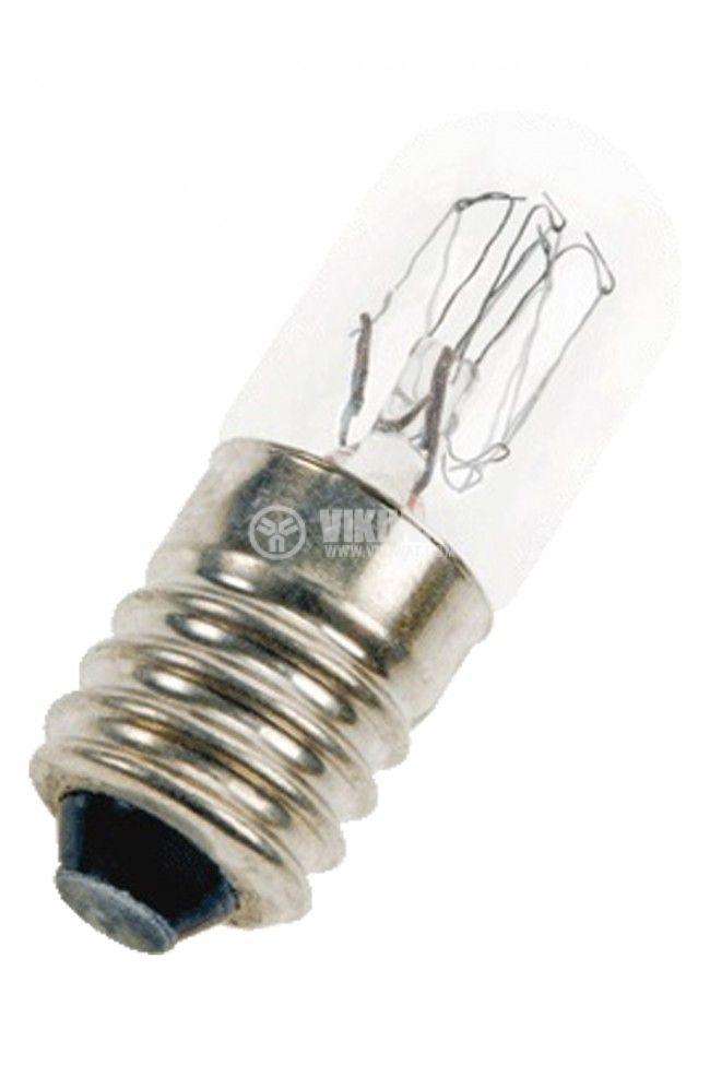 Миниатюрна лампа за фенер 6V 150mA E10 1W LAMP-E10/6/150