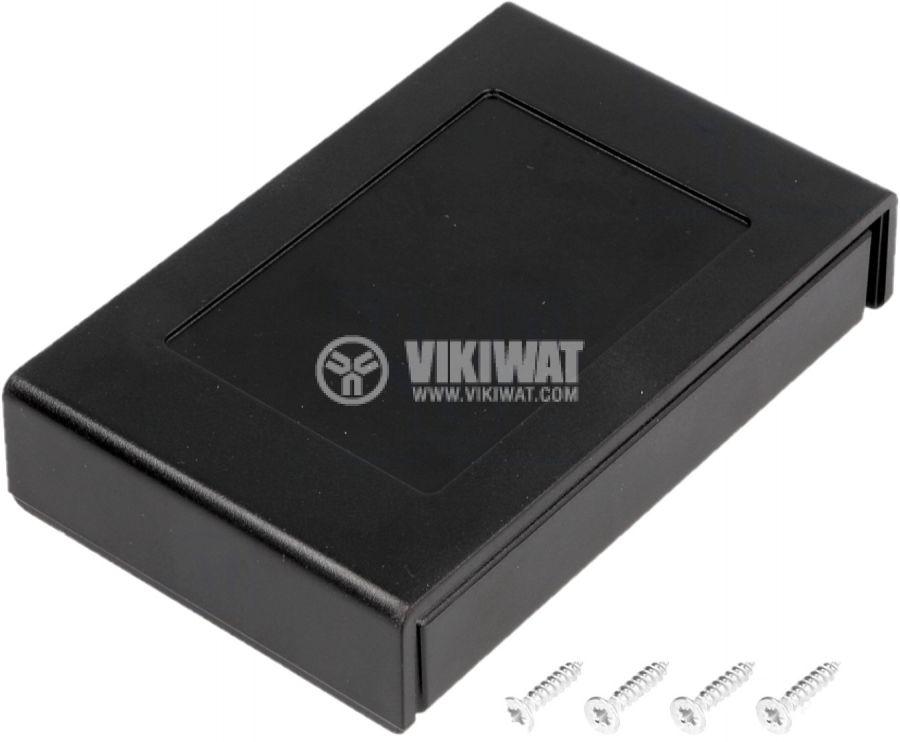 Кутия ABS черна универсална - 1