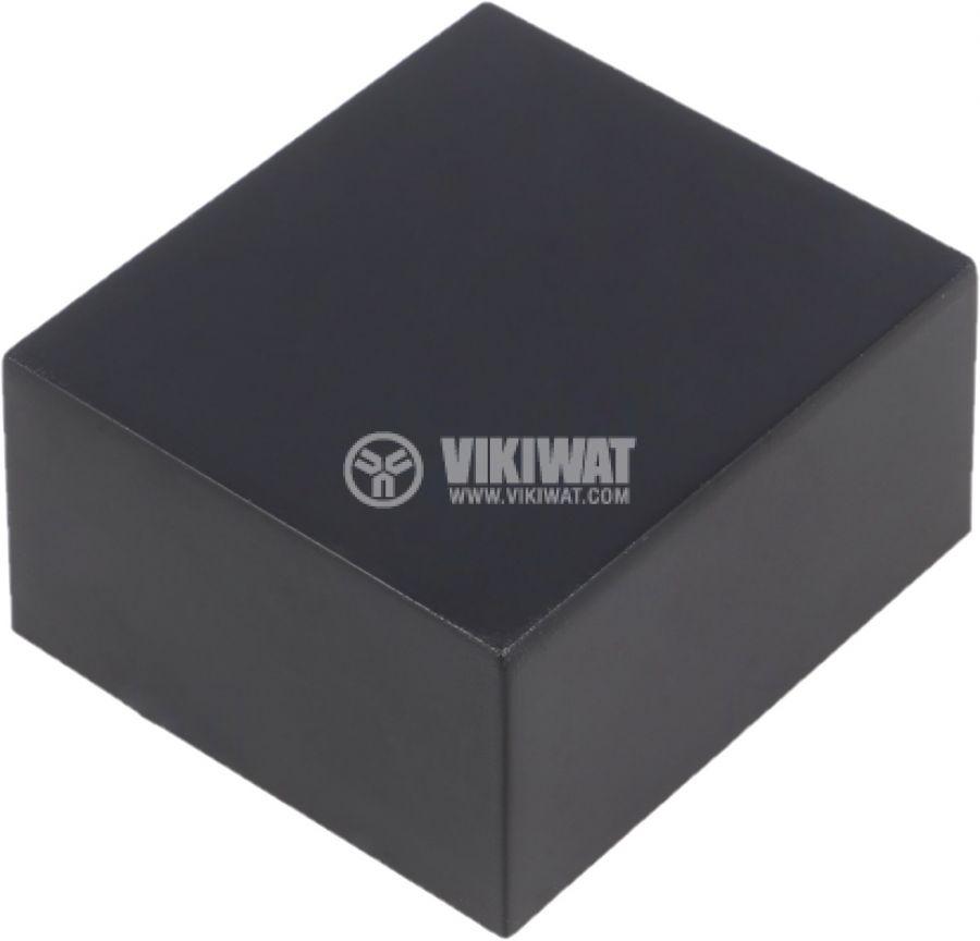 Контейнер Z87 52x46x26mm ABS черна за заливане - 1
