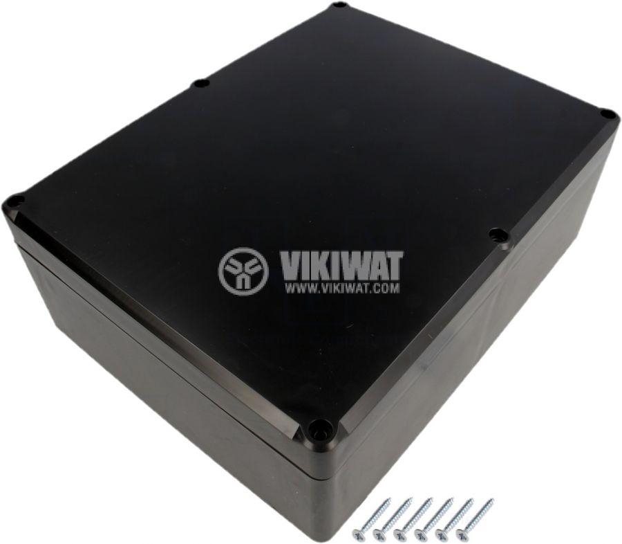 Контейнер 224x174x80 полистирен черна универсална - 1