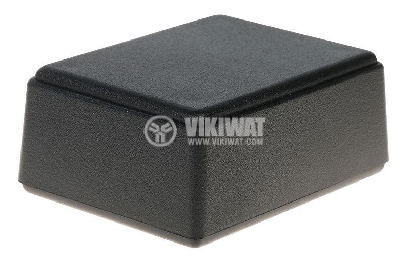 Кутия Z68 64x49x27 ABS черна универсална - 1