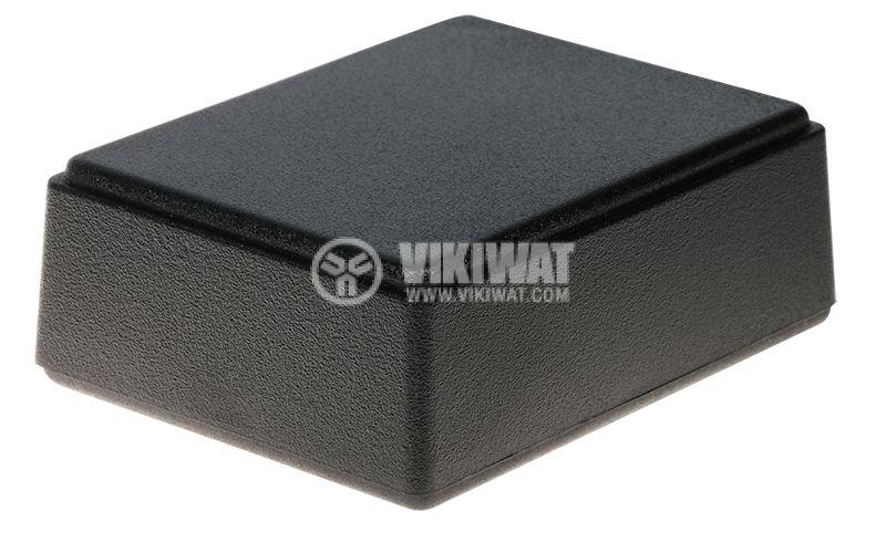 Кутия Z70 76x59x27 ABS черна универсална - 1