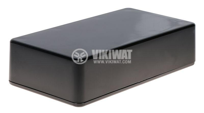 Кутия Z76 110x60x28 ABS черна универсална - 1
