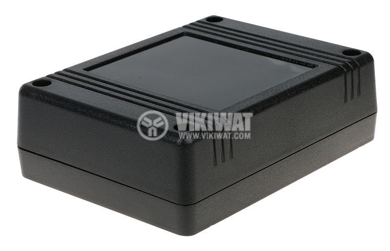 Кутия Z80 119x89x38 ABS черна универсална - 1