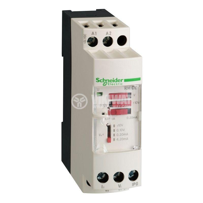 Преобразувател на напрежение и ток RMCV60BD DIN 24V 0-500V 0-20mA