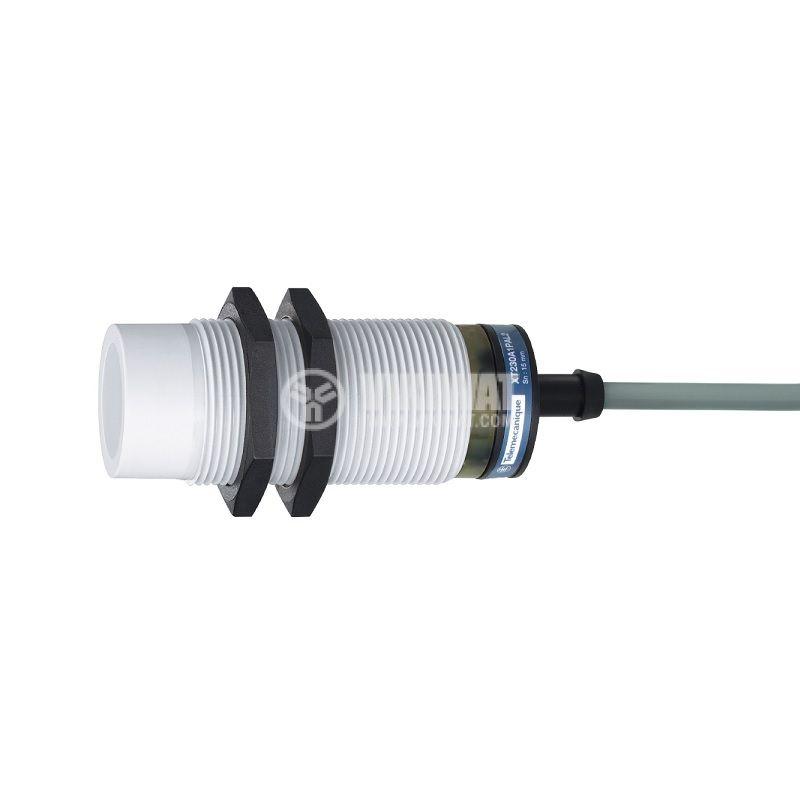 Капацитивен датчик XT230A1FAL2, M30x74.5mm, 20~265VAC, NO, 15mm, неекраниран