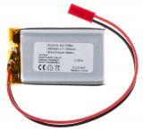 Акумулаторна батерия 3.7V 850mAh Li-Po проводници и букса