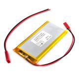Акумулаторна батерия 3.7V, 2600mAh, Li-Po, с проводници и букса