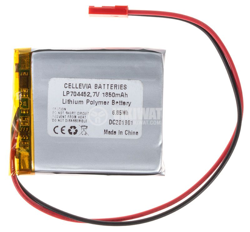 Акумулаторна батерия 3.7V, 1850mAh, Li-Po - 1