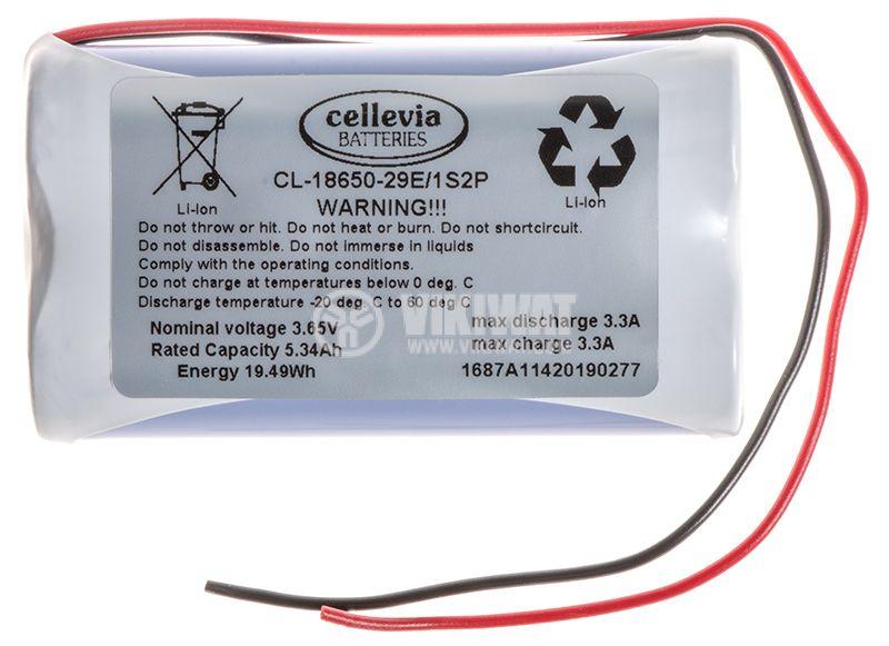 Акумулаторна батерия 3.65V, 5340mAh, Li-Ion - 1