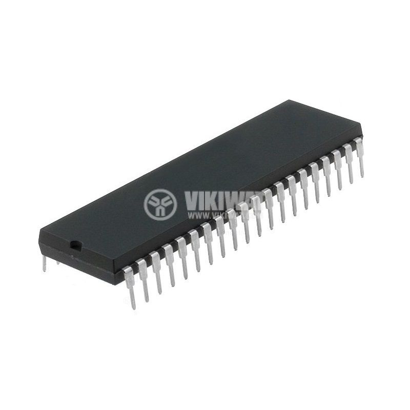 Microcontroller 8051, 8-bit CMOS microprocessor, DIP40