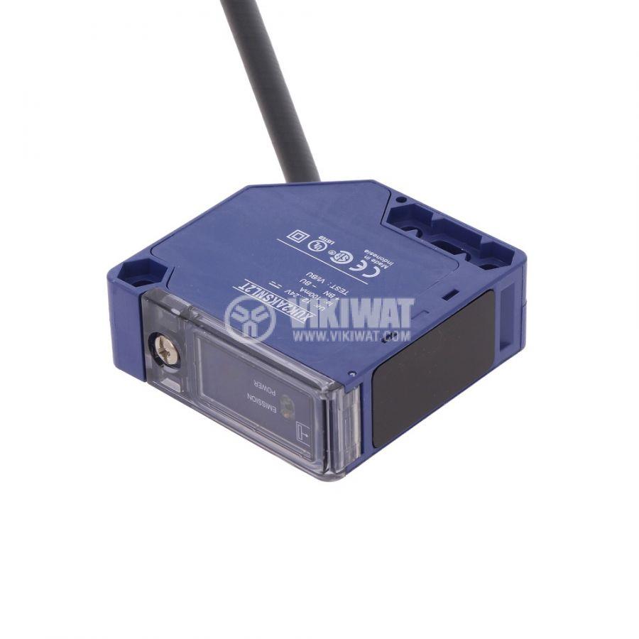 Оптичен датчик XUK2AKSNL2T, 10~36VDC, предавател, 50x50x18mm, 0~30m