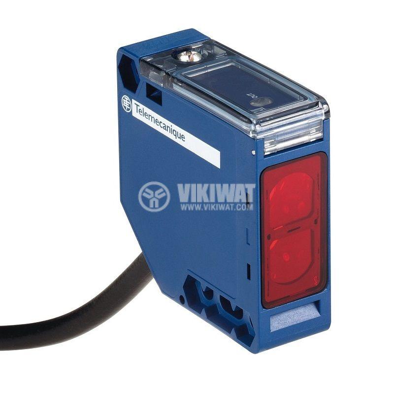 Оптичен датчик XUK9APANL2, 10~36VDC, отражателен, 50x50x18mm, PNP, NO, 0~6m
