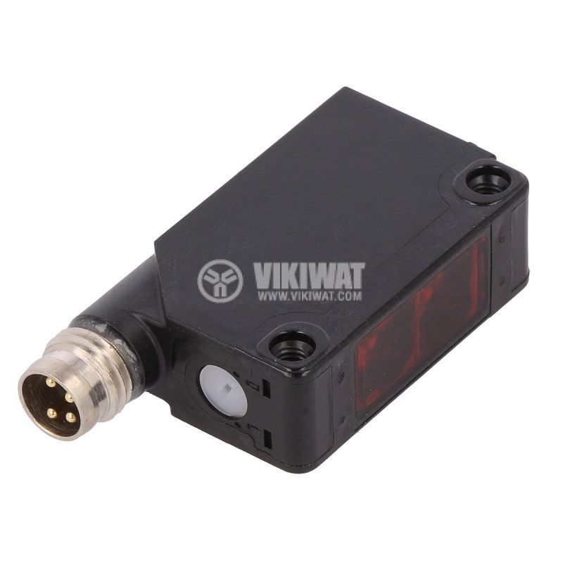 Оптичен датчик XUM9APCNM8, от 10 до 30VDC, отражателен, PNP, 0~5000mm - 1