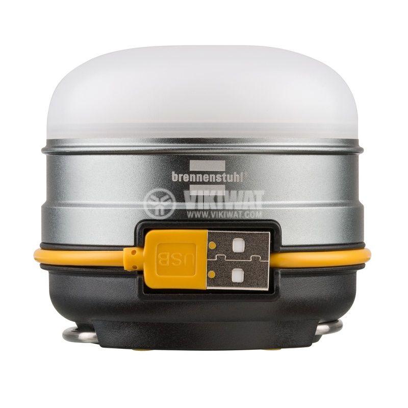 Презареждаема къмпинг LED външна лампа, OLI 0300 A, Brennenstuh, 350lm, IP44, водозащитена, 1171540 - 1
