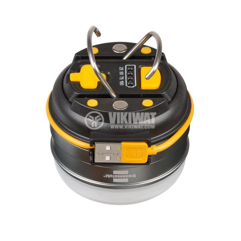 Презареждаема къмпинг LED външна лампа, OLI 0300 A, Brennenstuh, 350lm, IP44, водозащитена, 1171540 - 5