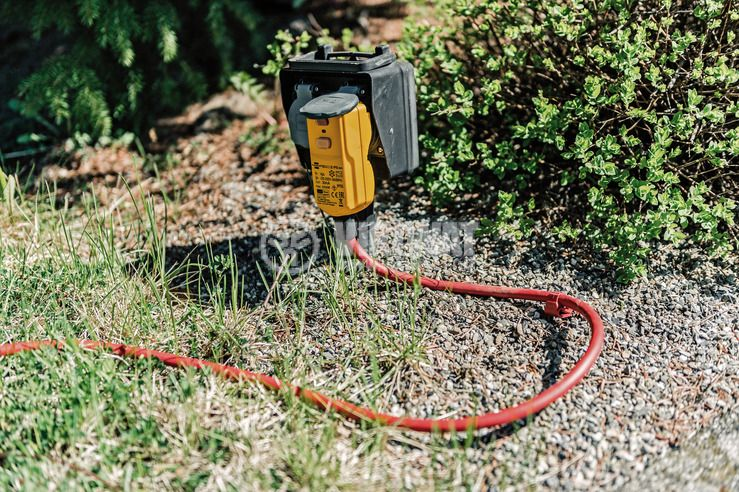 Щепсел шуко със ДТЗ за външна употреба, 16A/250V, IP55, Brennenstuhl 1090670 - 2