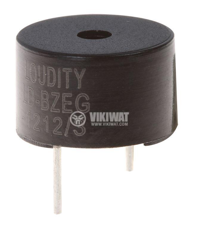 Зумер LD-BZEG-1212 електромагнитен сигнализатор 85dB 2.3kHz - 1