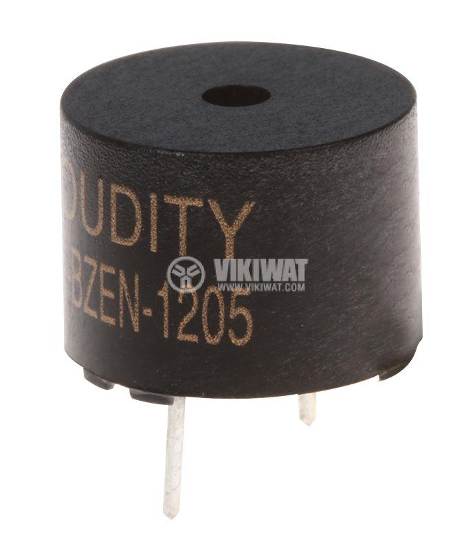 Зумер LD-BZEN-1205 електромагнитен 85dB 2.4kHz 12x9 - 1