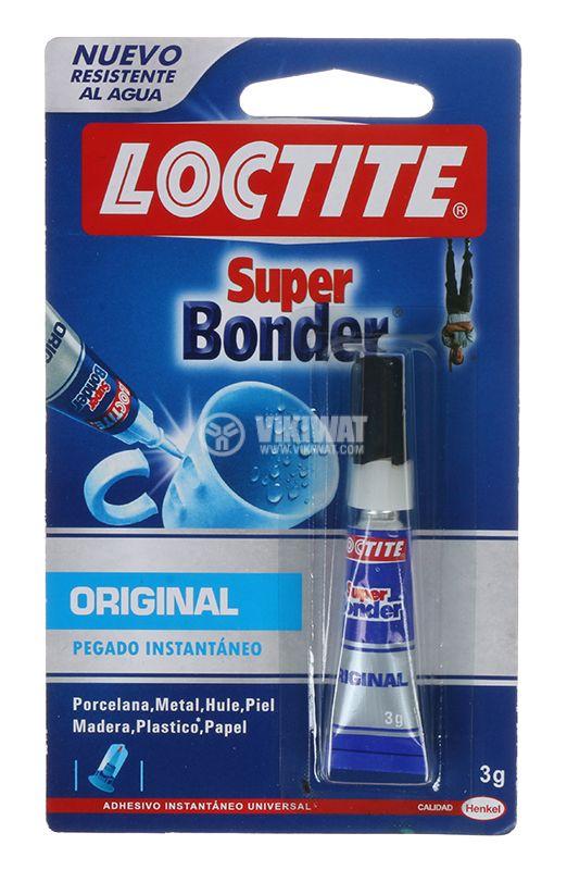 Секундно лепило Loctite Super Bonder