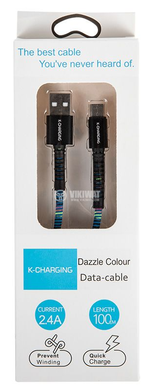 Cable USB Type-C / USB-A M, 1m - 2