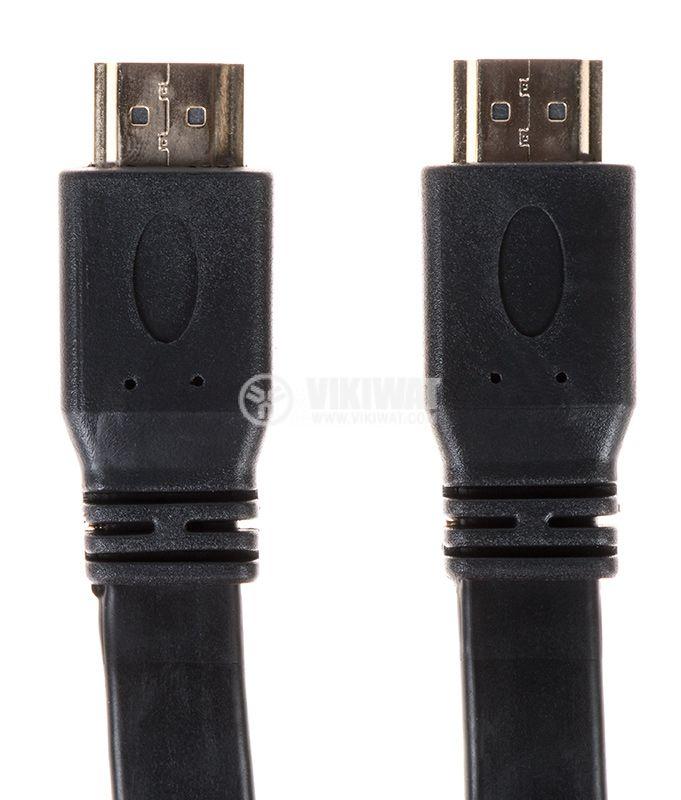 Кабел HDMI M - HDMI M, 15m - 1