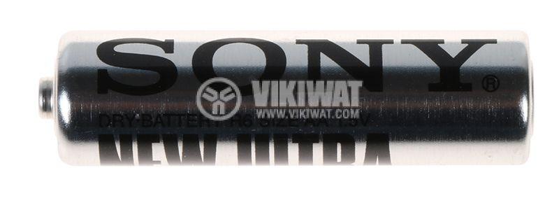 Батерия цинкова R6 AA 1.5V SONY NEW ULTRA - 1
