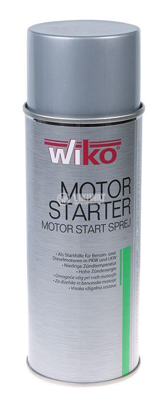 Engine start spray, Wiko motor starter, 400ml - 1