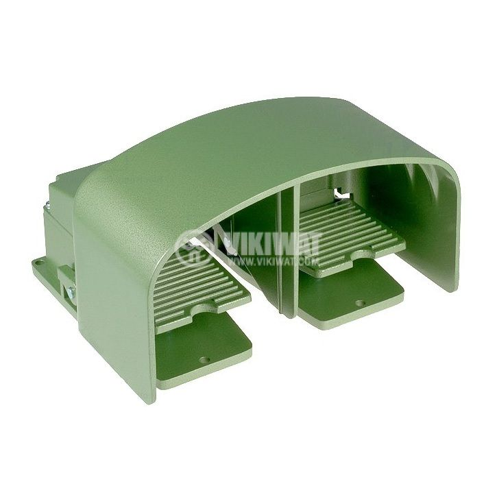 Крачен превключвател TFS-602, двоен, SPDT+SPDT, 15A/250VAC - 1