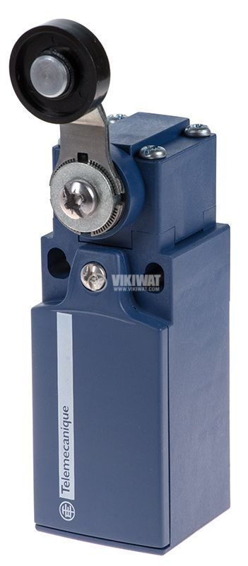 Limit switch XCKN2118P20, 3A/240VAC, NO+NC, with spring return, lever with roller - 1