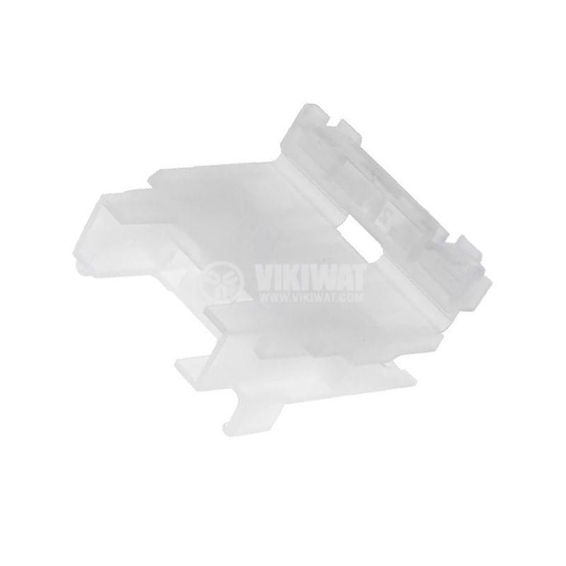 Държач за предпазител серия Unival, MTA-INLINE-WT, 30A, 32V, 19mm
