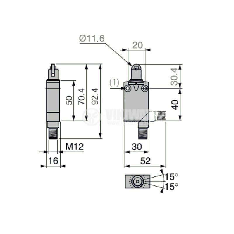 Краен изключвател с ролка - 4